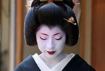 inspiration japon - Coiffure - costume - maquillage