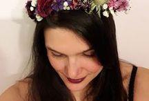 Fleurs - composition florale - couronne de fleurs