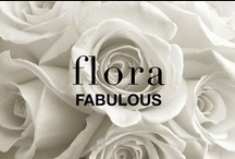 FLORA / Flora in the beautiful hue of white