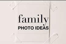 FAMILY PHOTO / A source of inspiration for those family portraits