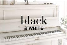 IN BLACK AND WHITE / Pure, graphic, dimension