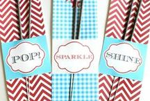Party Ideas / Theme parties, Easy Recipes, gifts and more for a party.