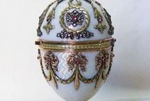 Fab Eggs / Primarily Fabergé egg artistry  / by OOAK Angel