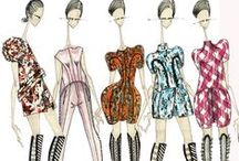 Fashion Illustrated / A collection of fashion illustrations from design houses, artists and students / by OOAK Angel