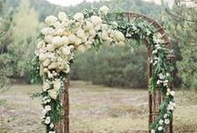 Wedderburn Castle Inspiration / Rustic flower inspiration for July wedding.