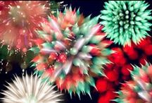 My fireworks / I take a photograph as mind is suitable.