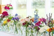 June Castle Wedding Inspiration / Inspiration for vibrant summer wedding.