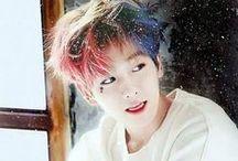 Byun Baekhyun / Name : Byun Baekhyun, D.O.B :  6 Mei 1992, Position : Main Vocal, Golongan Darah : B, Fans Name : Shiners, Power : Lunarkinesis.