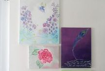 My art showcase / I love to paint and create, here is a quick art showcase of my passion!