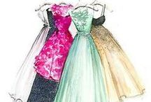 ilustracje ubrania