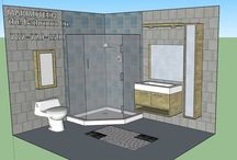 BATHROOM: 8x10 / WANT A FREE DESIGN FOR YOUR BATHROOM?  SEND INFO TO MARMOTECH, INC AT FACEBOOK