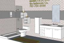 BATHROOM: 4x12 / ASKE DOR YOUR BATH FREE DESIGN AT MARMOTECH, INC IN FACEBOOK