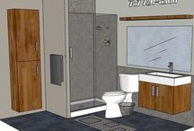 BATHROOM: 7x8 / LOOKING FOR FREE DESIGN FOR YOUR BATHROOM?  SEND INFO TO marmotechpr@gmail.com