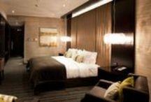 5 Star Hotel Room / Sky City Hamilton Hotel room. Hotel interiors designed by ORB Design