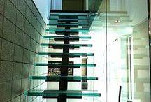 Unique Stair Ideas / A collection of unique staircase ideas.