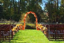 Gardens at Fenton Winery & Brewery Michigan / The Fenton Winery & Brewery Beer Garden is a casual, park like setting with over an acre of walk able space to enjoy. Wedding ceremonies, outdoor game and gorgeous flowers.