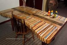 Recycled Furniture / Recycled, pallet Coffee Tables