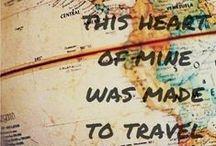 Travel Quotes / Citazioni e frasi per chi non sa non #viaggiare.