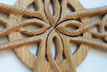 Woodcarving.Celtic