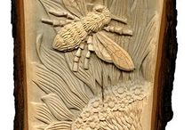 Woodcarving.Relief