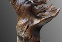 Woodcarving.Driftwood