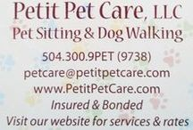 Welcome to Petit Pet Care / Petit Pet Care, New Orleans