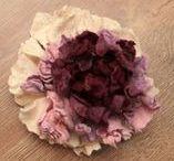 Цветы из войлока FeltUA / Валяные цветы, аксессуары из войлока, цветы из шерсти, handmade, DIY