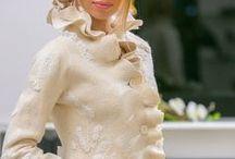 Жакет валяный / Beautiful felted wool jacket