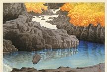 川瀬巴水 Hasui, Kawase / Japanese (1883-1957) - Peintre de la lumière : des paysages tellement beaux que l'on croirait des photos... See more at: http://collections.lacma.org/search/site/kawase%2520hasui?f[0]=bm_field_has_image%3Atrue