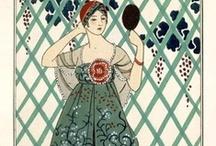 Gravures de mode et artistiques / Costumes parisiens ou d'ailleurs