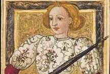 Le tarot dit de Charles VI / Medieval Tarocchi -- Ce tarot, dont 17 cartes sur 78 sont conservées, est l'un des rares témoignages des luxueux jeux princiers de la Renaissance italienne dont une vingtaine d'exemples subsistent. Créations d'érudits, ces jeux abondaient en allégories, symboles et emblèmes. L'iconographie des tarots, qui puise dans le sacré et le profane, correspond à la culture médiévale et humaniste. -- Italie du Nord, fin du 15e siècle -- Paris, BNF, Estampes, Rés. Kh 24