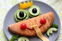 Fun & Healthy Food / If you are looking for fun and easy ways to get kids interested in eating healthy, this board is the perfect place for you! From adding faces to making animals with vegetables, no child will be able to resist these adorable food creations.