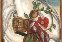 Wappen des Heyligen Römischen Reichs Teutscher Nation / Koebel, Jacob, Wapen des Heyligen Römischen Reichs Teutscher Nation..., Franckfurth am Main, 1545 [BSB Ms. Rar. 2155], Holzschnitte: Jacob Kallenberg (Arms of the German nation of the Holy Roman Empire) --  http://daten.digitale-sammlungen.de/~db/0005/bsb00059192/images/?nav=1&seite=00001&viewmode=1 -- More at: http://bibliodyssey.blogspot.fr/2011/03/flagging-heraldry.html -- Other color version: http://lccn.loc.gov/49038311 -- b&w version: urn:nbn:de:bvb:12-bsb00016069-4