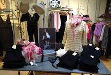 INSIDE OUR WALLS  / An insiders look at the Lyn Evans displays, creativity, and fashion inspiration!