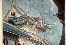 笠松紫浪 Kasamatsu, Shirō /  (Japanese, 1898-1991) -- See more at: http://shinhanga.net/shiroprints.htm