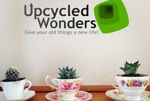REUSE / Creative and inspiring ideas to reuse old materials and products!