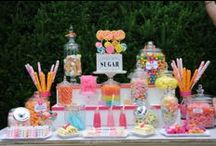 Wedding theme: Sweet like candy / This wedding theme embodies the colors and playfulness of spring/summer. The 'sweet like candy' theme is for anyone who has a sweet tooth and is not afraid to show it!