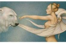 Art - Michael Parkes / (born in 1944)