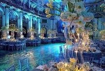 Wedding theme: Turquoise & Bling