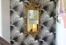 Interior glam