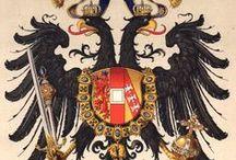 Austro-Hungarian Empire - Hugo Ströhl / Österreichisch-Ungarische Monarchie - Osztrák-Magyar Monarchia -- See also at: http://istrianet.org/istria/heraldry/austria-hungary/index.htm