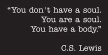 """Words / """"All get what they want; they do not always like it."""" - C. S. Lewis"""