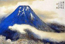 富士山 Fujiyama, Fujisan (Mt Fuji) / Pour Séverine --  Le mont Fuji est situé dans la région des cinq lacs (Kawaguchi, Sai, Shoji, Motosu et Yamanaka). Un peu plus loin, le lac Tanaki (artificiel).
