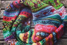 вязание снуд шарф шапка