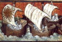 Navires de rêve / Voiliers, goélettes, caravelles, gallions et autres vaisseaux pour Lili :)
