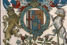 L'Ordre de la Jarretière (BSG Ms. 0937) / «Recueil de tous les chevaliers du tres noble Ordre de la Jarretiere», par le Sieur de Valles, Paris, vers 1625 [Bibliothèque Sainte-Geneviève, Ms. 0937].