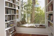 Lovely Libraries, Reading Nooks, and Bookshelves