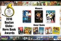 BGHB/HBAS / First presented in 1967 and customarily announced in June, the Boston Globe–Horn Book Awards are among the most prestigious honors in the field of children's and young adult literature. Winners are selected in three categories: Picture Book, Fiction and Poetry, and Nonfiction. Two Honor Books may be named in each category.