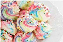 Rainbows, unicorns and sparkles / Parce que... why not ? des couleurs, des licornes magiques, des trucs tout doux et tout mignon... ^^