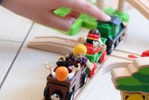 Circuits de trains en bois Brio